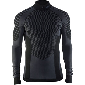 Craft Active Intensity Zip Shirt Herr black/granite